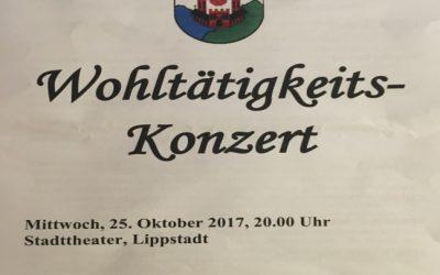 9. Wohltätigkeitskonzert – organisiert durch die Reservistenkameradschaft Lippstadt.