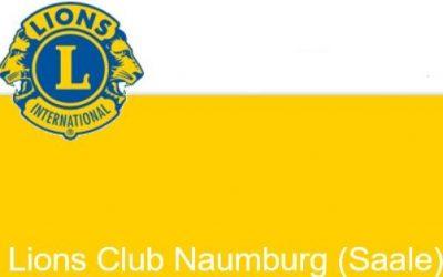 Lions Club Naumburg (Saale) unterstützt den FUAV mit großartiger Spende.