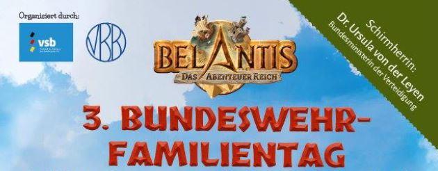 3. Bundeswehrfamilientag im Freizeitpark BELANTIS in Leipzig der FUAV war dabei.