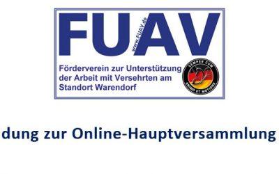 1. Online Hauptversammlung