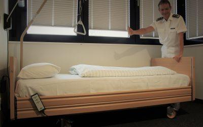 FUAV übergibt Pflegebetten – Den Transfer erleichtert